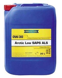 Моторное масло Ravenol Arctic Low SAPS ALS SAE 0W-30 20 л