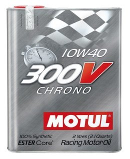 Моторное масло Motul 300V Chrono 10W40 2 л