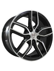 Диски R15 5x105 6J ET39 D56,6 NZ Wheels SH 656 BKF - фото 1