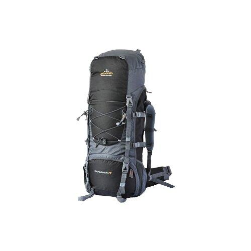 Экспедиционный рюкзак pinguin Explorer 75, черный, серый