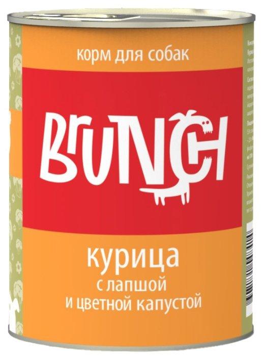 Корм для собак Brunch Курица с лапшой и цветной капустой для собак
