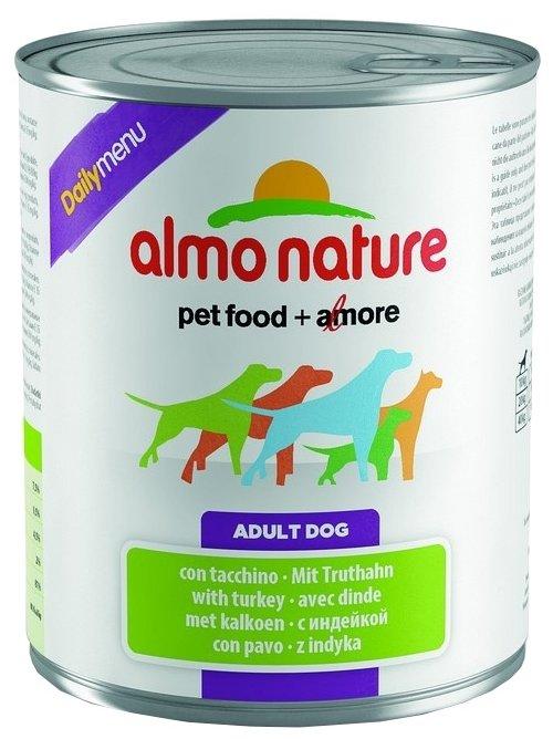 Корм для собак Almo Nature Daily Menu индейка 800г