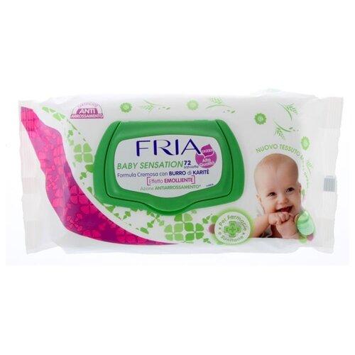 Купить Влажные салфетки Baby Sensation 72 шт., FRIA
