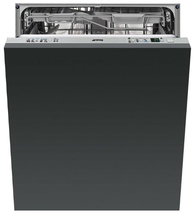 Встраиваемая посудомоечная машина STA6539L3, чёрный, Smeg