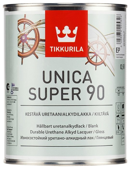 Лак Tikkurila Unica Super 90 (0.9 л)