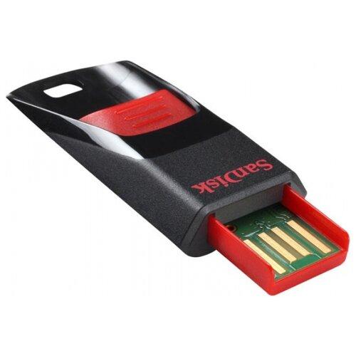 Фото - Флешка SanDisk Cruzer Edge 16Gb черный/красный флешка adata ud330 16gb красный