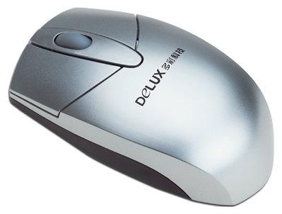 Мышь Delux DLM-336BP Silver PS/2
