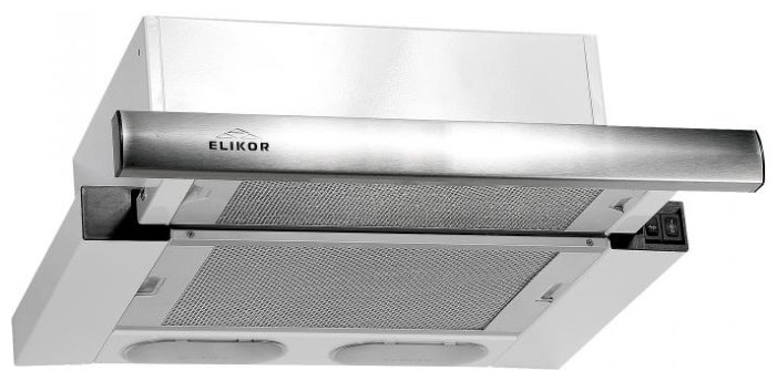 Кухонная вытяжка Elikor Интегра 45 White-Inox