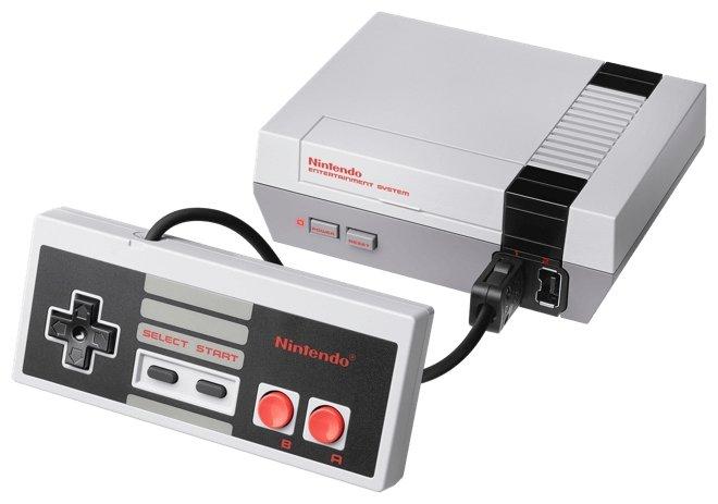 Игровая приставка Nintendo Classic Mini: NES