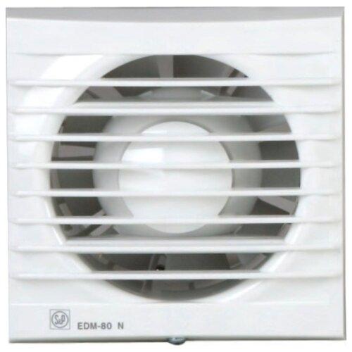Вытяжной вентилятор Soler & Palau EDM-80 N, белый 9 Вт вытяжной вентилятор soler