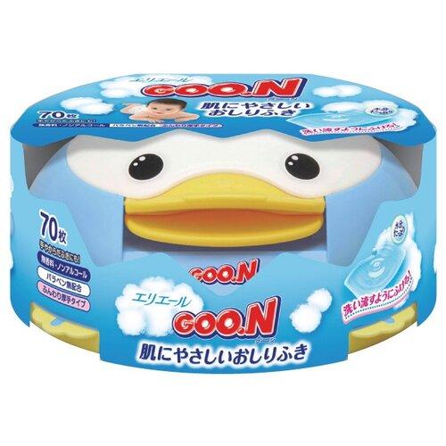 Влажные салфетки Goo.N Для чувствительной кожи в контейнере 70 шт.Влажные салфетки<br>