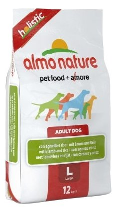 Корм для собак Almo Nature Holistic Adult Dog Large Lamb and Rice
