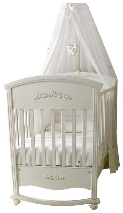Кроватка Picci Vintage (качалка), на полозьях
