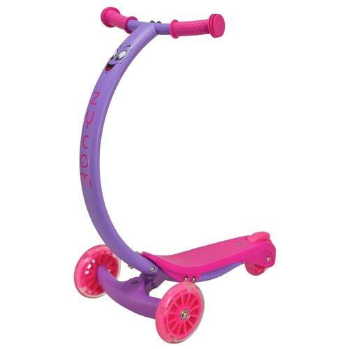 Кикборд Zycom Zipster розовый/фиолетовый