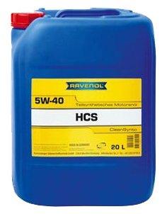 Моторное масло Ravenol HCS SAE 5W-40 20 л