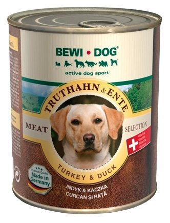Корм для собак Bewi Dog Meat Selection с индейкой и уткой