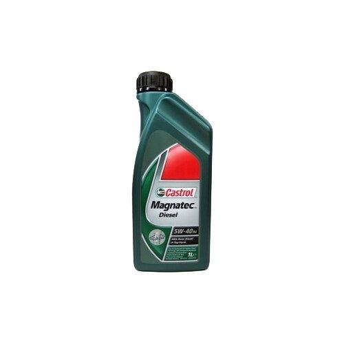 Синтетическое моторное масло Castrol Magnatec Diesel 5W-40 B4 1 л синтетическое моторное масло starkraft leo 5w 40 s 1 л
