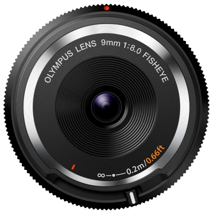 Olympus 9mm f/8 Fish-Eye Body Cap