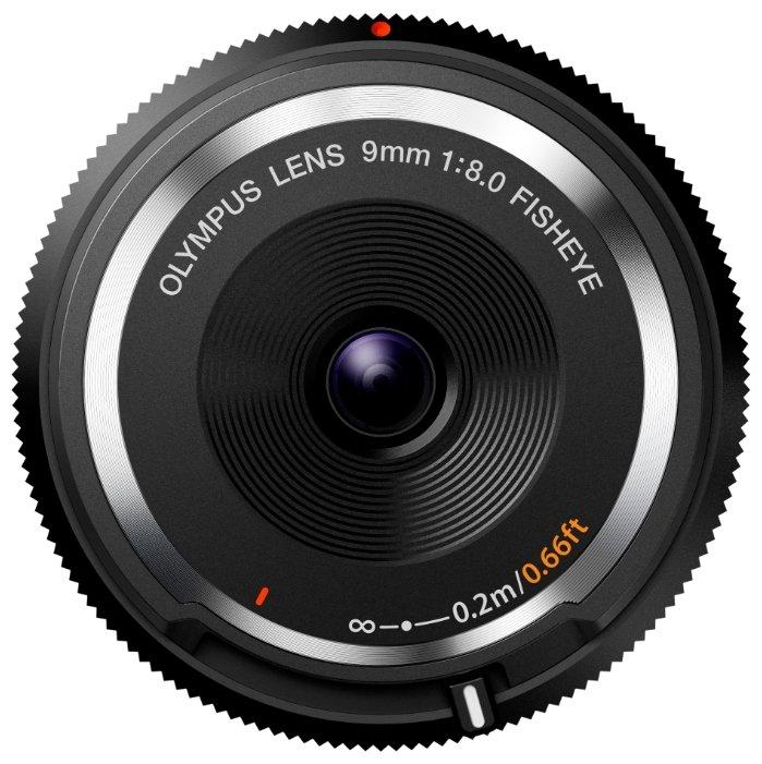 Olympus Объектив Olympus 9mm f/8 Fish-Eye Body Cap