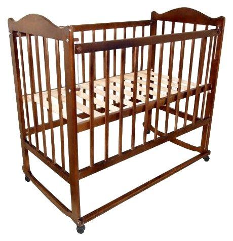 Кроватка Мой малыш 5 (колесо-качалка)