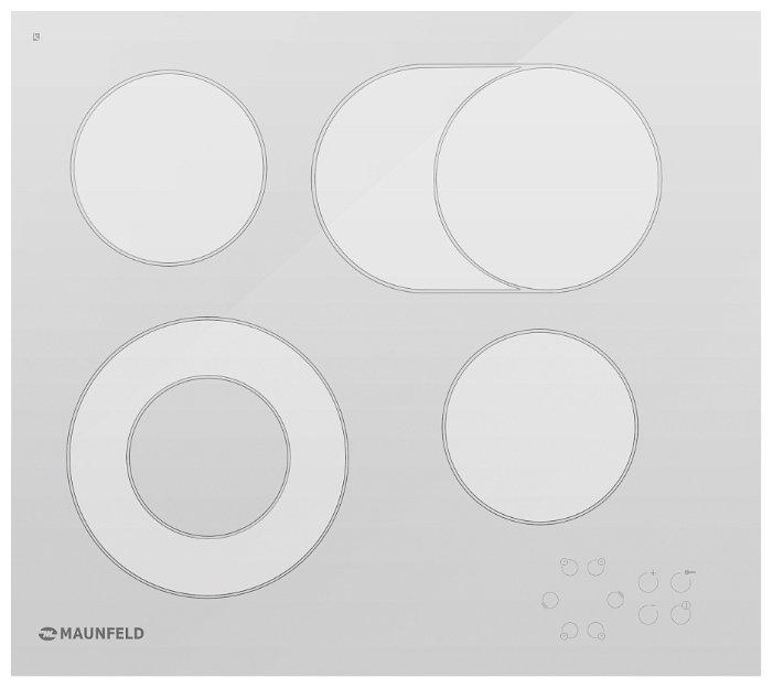 MAUNFELD Варочная панель MAUNFELD MPE 58 AO E2T1 White