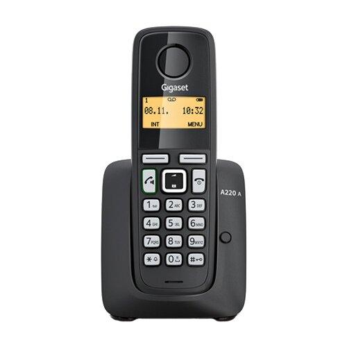 Купить Радиотелефон Gigaset A220A черный