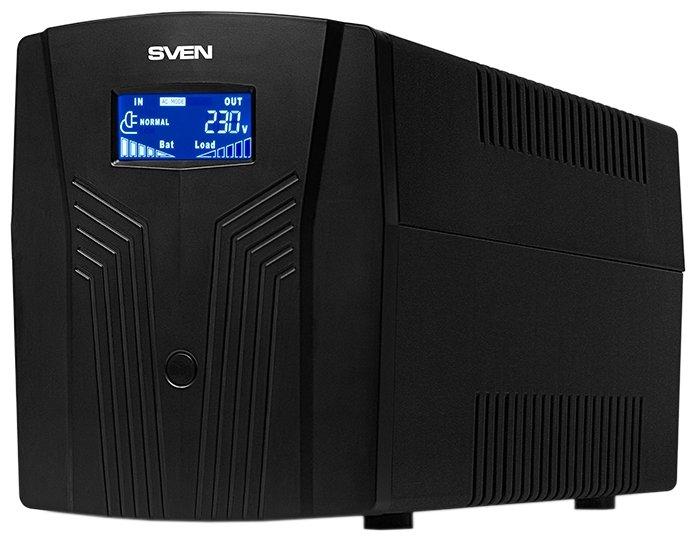 Интерактивный ИБП SVEN Pro 1500 (LCD, USB)