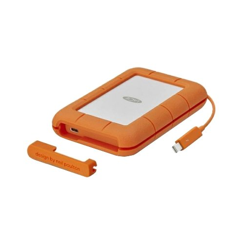 Внешний HDD Lacie Rugged Thunderbolt USB-C 1 ТБ оранжевый