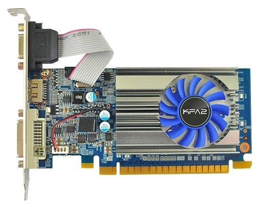 KFA2 GeForce GT 710 954Mhz PCI-E 2.0 1024Mb 1600Mhz 64 bit DVI HDMI HDCP