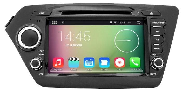 Автомагнитола Smarty Kia RIO 2011-2014 Android