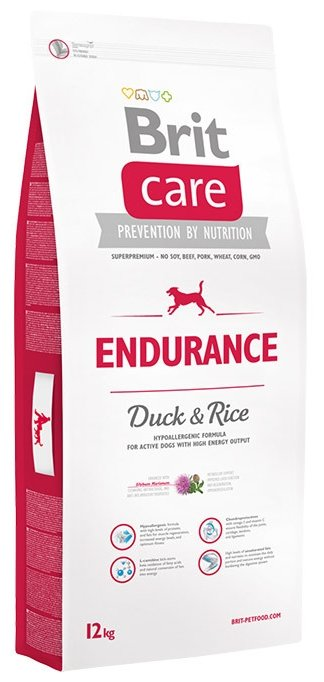 Корм для собак Brit Care Endurance Duck & Rice