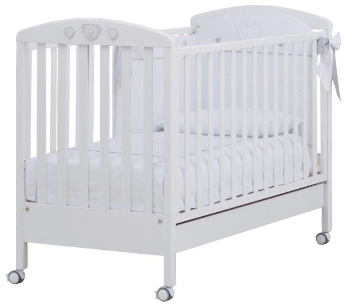Кроватка Erbesi Abbraccio