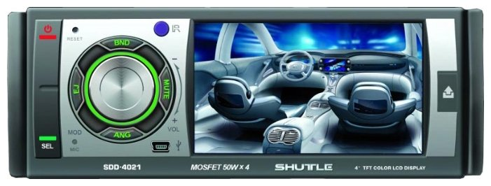 Автомагнитола Shuttle SDV-4021G