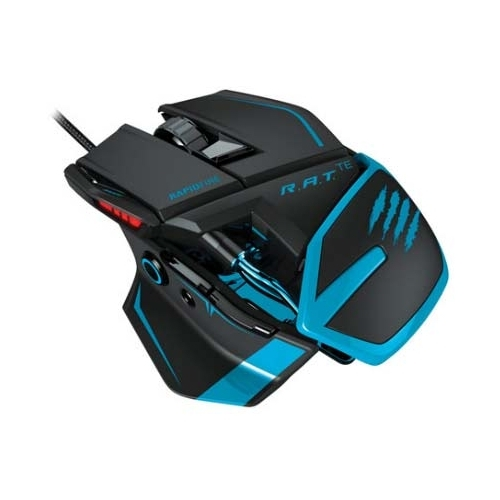 Мышь Mad Catz R.A.T. TE Gaming Mouse for PC and Mac Blue USB