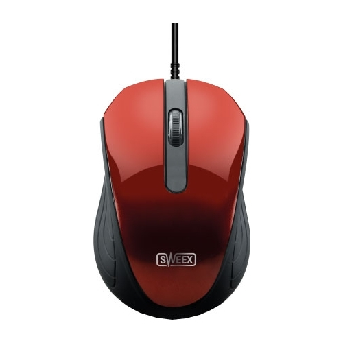 Мышь Sweex MI082 Mouse Red USB