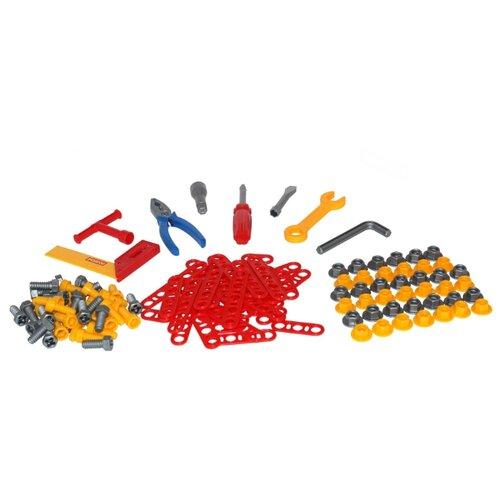 Полесье Набор инструментов №5 (129 элем. в пакете) (47199) конструктор полесье малютка 220 элем в пакете 1465 pls