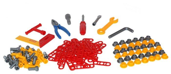 Полесье Набор инструментов №5 (129 элем. в пакете) (47199)