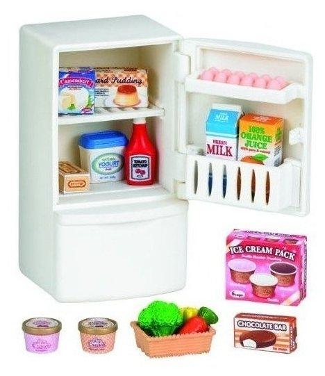 Игровой набор Sylvanian Families Холодильник с продуктами