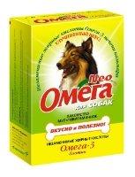 Лакомство для собак Омега Neo с биотином