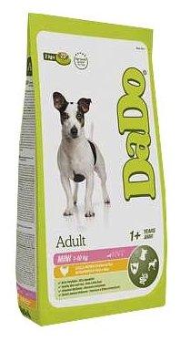 Корм для собак DaDo Для собак мелких пород с курицей и рисом