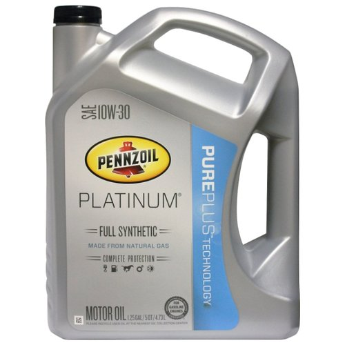 Фото - Моторное масло Pennzoil Platinum Full Synthetic SAE 10W-30 4.73 л моторное масло pennzoil gold synthetic blend sae 5w 30 0 946 л