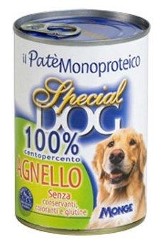 Корм для собак Special Dog Паштет из 100% мяса Ягненка