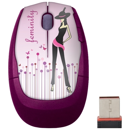Мышь Cirkuit Planet CPL-MW1113 Elle Passion Pink USB