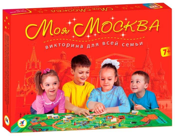 Настольная игра Дрофа-Медиа Моя Москва