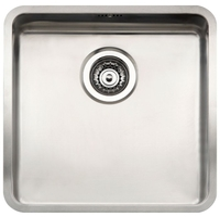 Интегрированная кухонная мойка Reginox OHIO 40x40