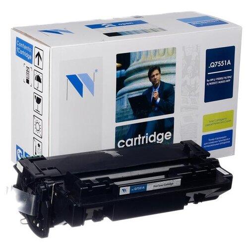 Фото - Картридж NV Print Q7551A для HP, совместимый картридж nv print ce742a для hp совместимый