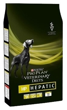 Корм для собак Pro Plan Veterinary Diets Hepatic при заболеваниях печени 1.5 кг