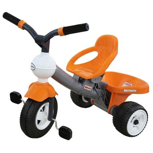 Фото - Трехколесный велосипед Coloma Y Pastor Дидактик 3 46383 оранжевый/серый полесье велосипед трехколесный дидактик 3 46598 цвет в ассортименте