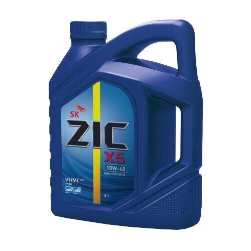 Моторное масло ZIC X5 DIESEL 10W-40 6 л