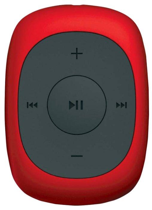 Digma 367230 Плеер Flash C2L 4Gb красный FM clip